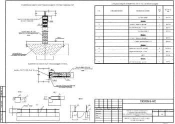Комплект готовых чертежей пункта для ремонта транспортных средств