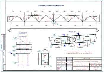 Набор чертежей здания автотехнического центра для технического обслуживания и ремонта транспортных средств