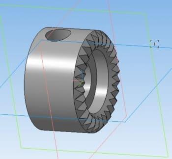 19.3D-модель детали отвертки
