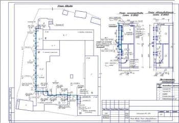 Чертежи плана газофикации топочной на 400 кВт