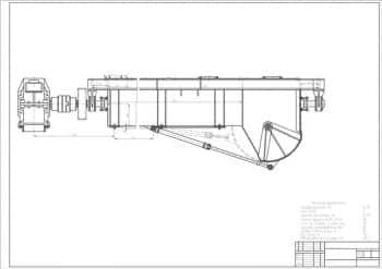 1.Сборочный чертеж бетономешалки С-543