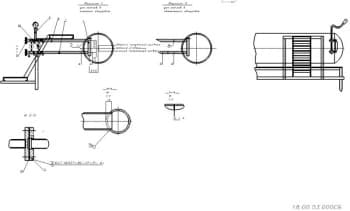 20.Сборочный чертеж установки водоуказательных приборов в масштабе 1:20
