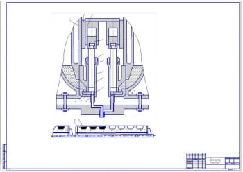 Конфетоотливочная  машина К-300 отливающая конфеты в формы из крахмала