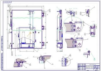 2.Дверь-дымогенератор в сборе (формат А1)
