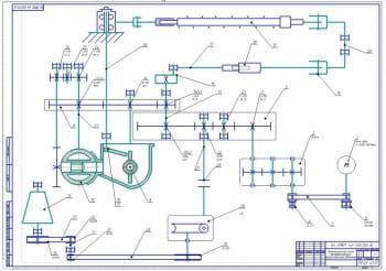 2.Кинематическая схема автомата (формат А1)