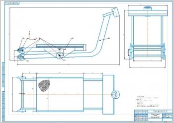 2.Сборочный чертеж траверсы качения стенда (А1)