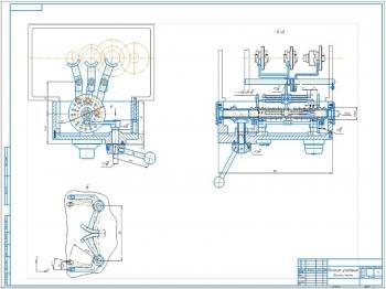 Проект конструкции коробки подач токарно-винторезного станка