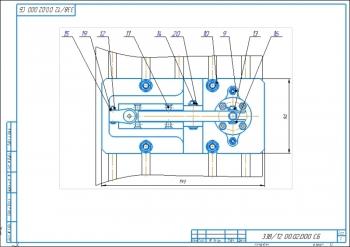2.Второй лист сборочного чертежа приспособления для сверления А1