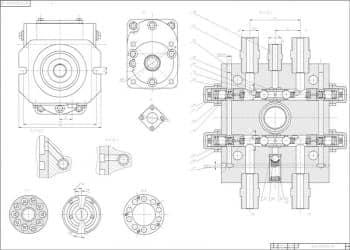 ертеж сборочный насосного агрегата 2 лист (формат А1)
