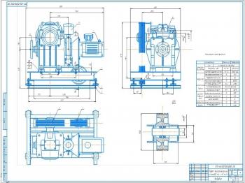 Проект конструкции пассажирского лифта ПП-400