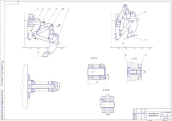 2.Общий чертеж рыхлительного оборудования (формат А1)
