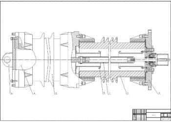 Чертежи проектирования выключателя ВГК-220