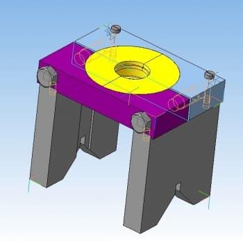 24.3D-модель устройства для выпрессовки подшипников