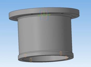 24.Нижний цилиндр 3D-модель