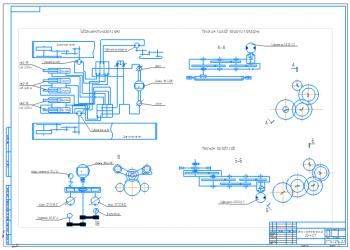 2.Кинематические схемы ЭО-4121 на формате А1
