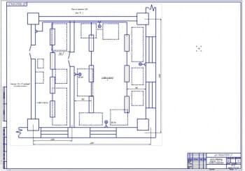 2.Схема освещения участка (расчеты в приложении) (формат А1)