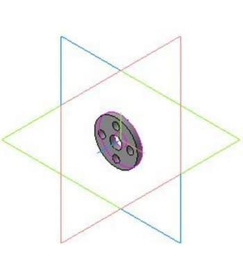 Деталировочный чертеж хомута в 3D формате
