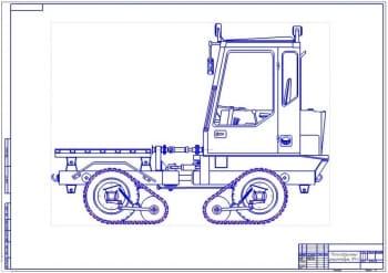 2.Общий вид конструкции 2ой лист (формат А1)