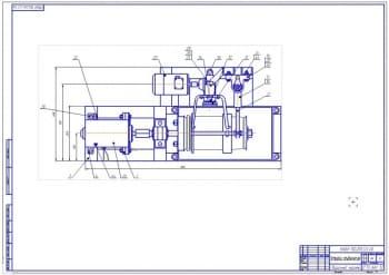 2.СБ (лист 2) устройства для гальванических работ – вид сбоку (формат А1)