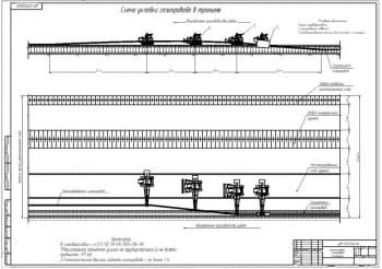 2.Схема укладки газопровода с траншею (формат А1)