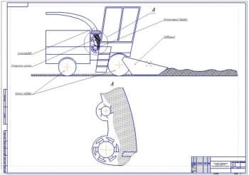 2.Самоходный кормоуборочный комбайн MARAL 125. Схема технологического процесса (формат А1)