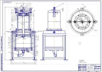 2.Сборочный чертеж дозатора (формат А1)