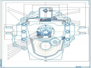 Проект конструкции коробки передач автомобилей КамАЗ 6460 «Континент»