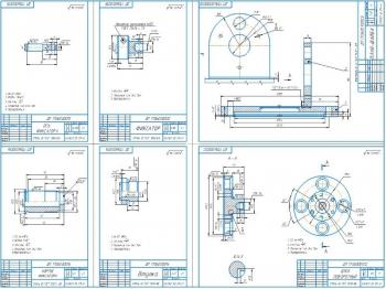 3.Деталировочный чертеж приспособления А1