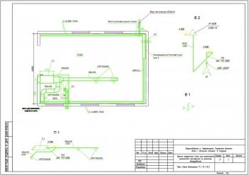 Чертежи здания модульного типа для размещения ремонтной мастерской