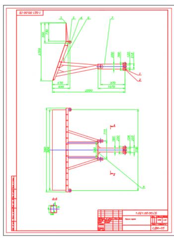 3.Сборочный чертеж задней стенки А2