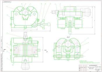 Проектирование комплекта чертежей фрезерного приспособления с разработкой технических и операционных эскизов