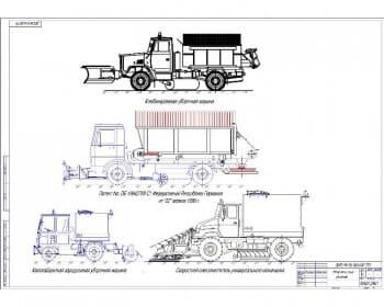3.Обзор патентных решений: комбинированная уборочная машина