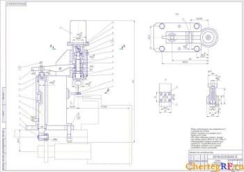 3.СБ головки сверлильной в формате А1, в масштабе 1:1, с техническими требованиями