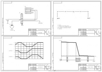 3.Набор чертежей сводных графиков расчета