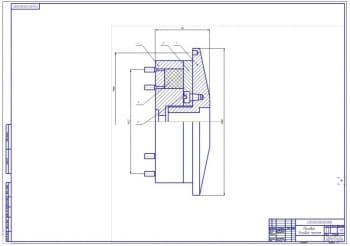 3.Маховик в сборе – узловой чертеж (формат А1)