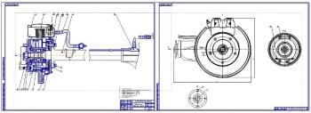 3.Сборочный чертеж заднего моста (формат 2хА1)