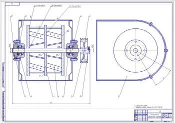 3.Сборочный чертеж ускорителя (формат А1)