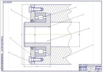 3.Сборочный чертеж подшипникового узла (формат А1)