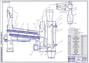 3.Технологическая схема сепаратора (формат А1)