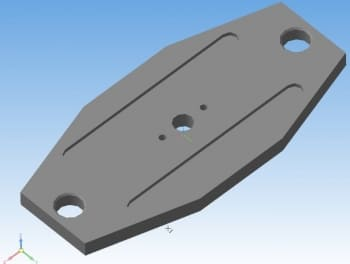 37.Верхняя плита в 3D-моделировании