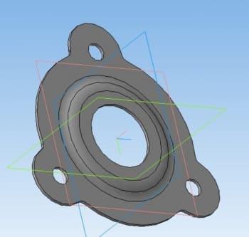 38.Крышка колеса в 3D