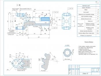 Деталировка карданной передачи