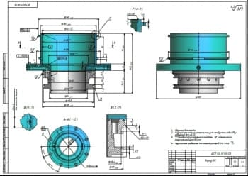 Чертежи сборочных узлов двигателя стрилинга