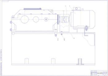 4.Чертеж вида общего станции приводной в масштабе 1:1, с указанными размерами (формат А1)