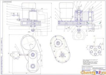 4.Сборочный чертеж головки фрезерной