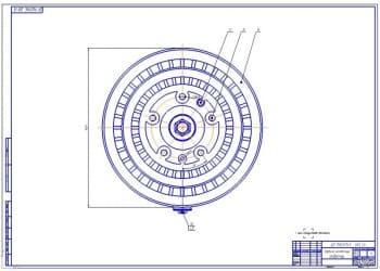 4.Задний колесный редуктор в сборе (формат А1)