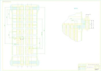 4.Чертеж сборочный теплообменника, вида В – 2 лист (формат А1)