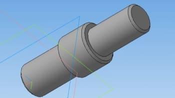 4.3D-модель оси держателя