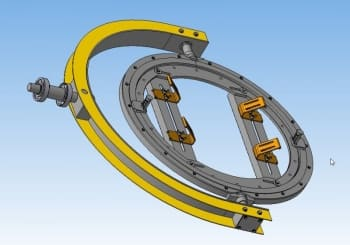 4.3D-модель сборочного узла подхвата
