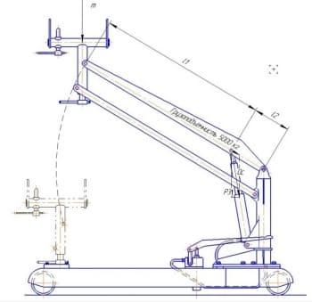 4.Расчетная схема конструкции
